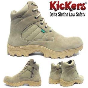 BK0006 Kickers Steel Toe Delta Sleting Rp. 250000