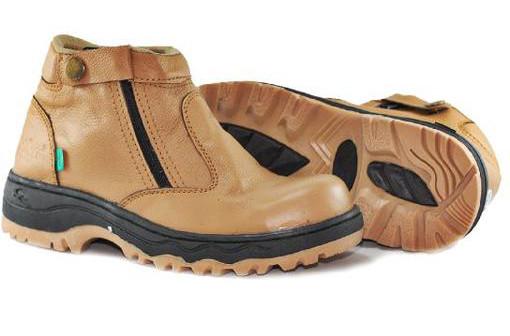 BK0272 Tan Kickers Bison Boots - Rp. 210000