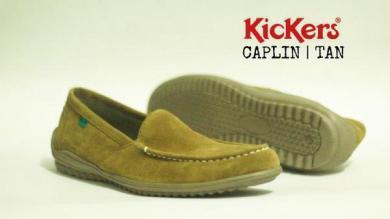 BK0422 Tan Kickers Slip On Chaplin - Rp. 170000