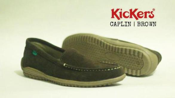 BK0425 Brown Kickers Slip On Chaplin - Rp. 170000