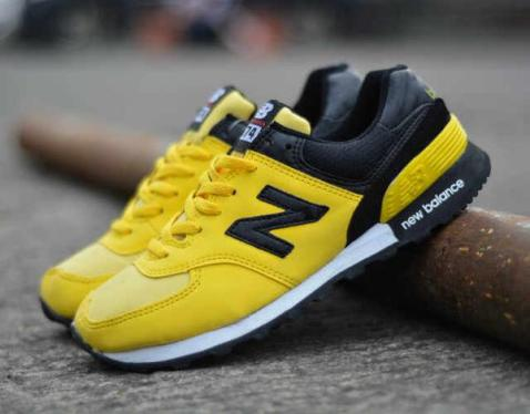 BN0106 Yellow New Balance 574 Women - Rp. 200000