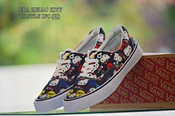 BV0166 Black Vans Era Hello Kitty - Rp. 160000