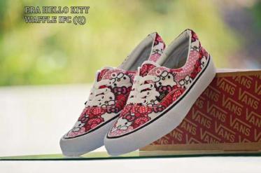 BV0167 Pink Vans Era Hello Kitty - Rp. 160000