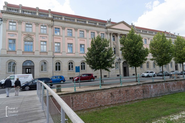 Brockessches Palais nach der Restaurierung