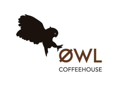 logotipo owl coffeehouse