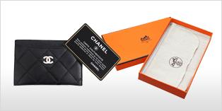 HERMES 愛馬仕的盒子、CHANEL 香奈兒的保證書等附屬品