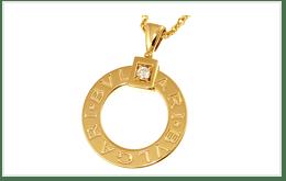 二手BVLGARI.BVLGARI(BB)K18黃金項鍊