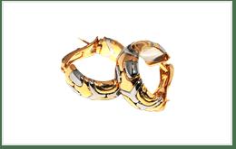 二手寶格麗 BVLGARI PARENTESI 耳環