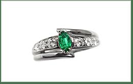 祖母綠設計款戒指