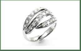 白金鑽石戒指 1.3CT