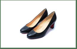 Christian Louboutin 紅底鞋黑色高跟鞋的收購