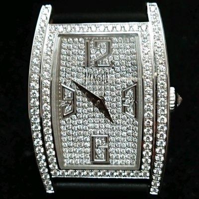 PIAGET P10879 LIMELIGHT系列22MM白金女鑽錶(QZ) 190404 松山