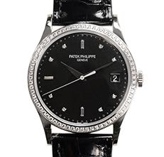 CALATRAVA 鑽石錶圈 白金 5297G-001
