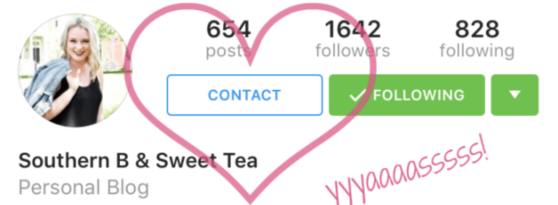 "How to Get the ""Contact"" Button on Instagram"