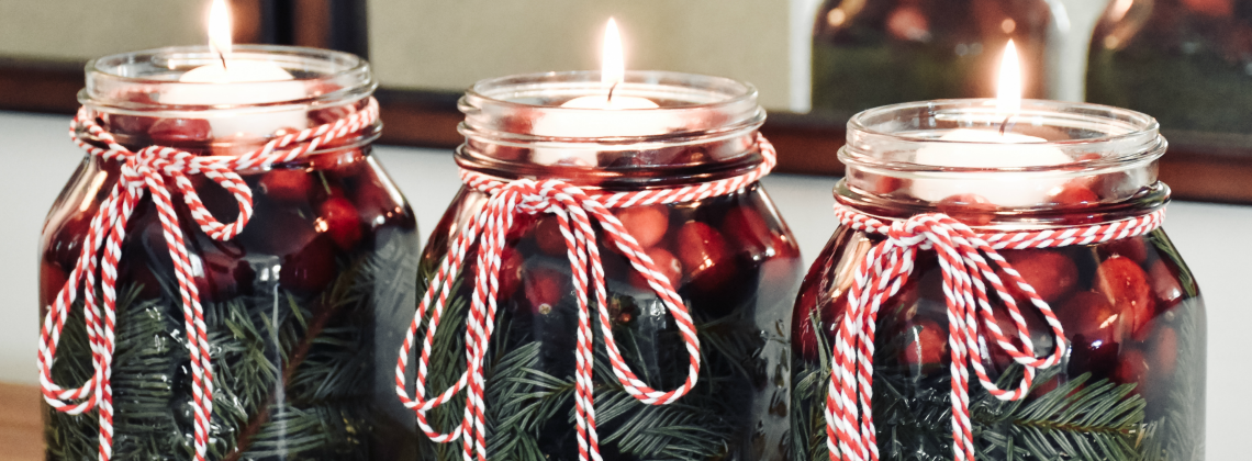 5-Minute Holiday Centerpiece