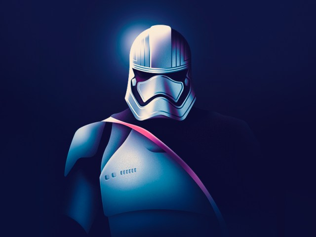 Captain Phasma + Wallpaper by Paulius