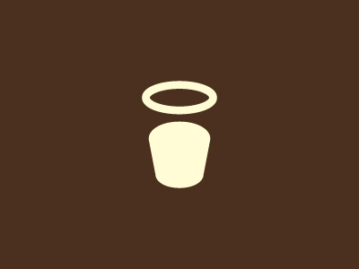 Coffee by Paul Saksin - Negative Space Logo Design Trend