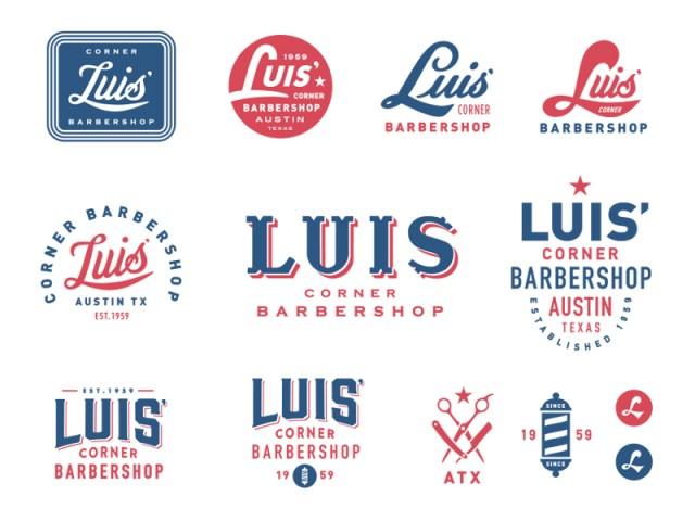 Luis' Corner Barbershop by Steve Wolf