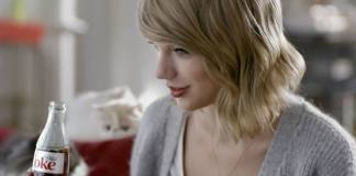Taylor Swift Coke Light Campaign