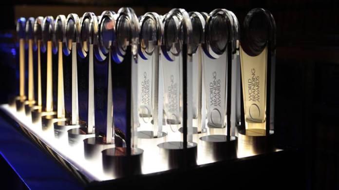 World Branding Awards trophies
