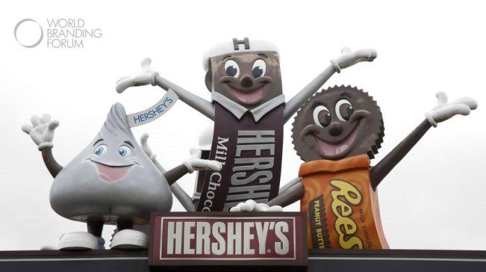 Hershey chocolate factory mascots, Hershey Bar, Hershey Kiss and Reeses Bar - Photo by Karen Foley Photography