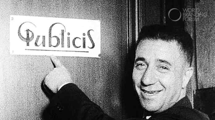 Marcel Bleustein-Blanchet and the original Publicis logo