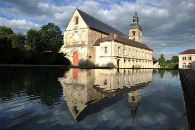 Dom Perignon Abbaye d'Hautvillers. Credit: Richard Newton