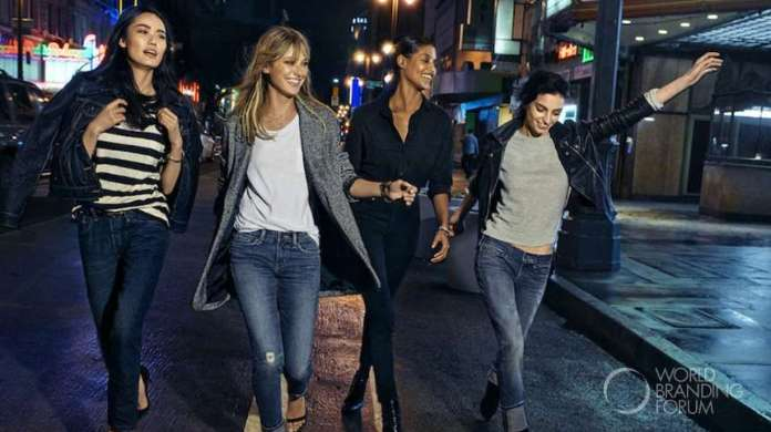 The Levi's brand launches an all new women's denim collection