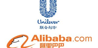 Unilever Alibaba logos