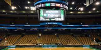 Putnam Boston Celtics Court