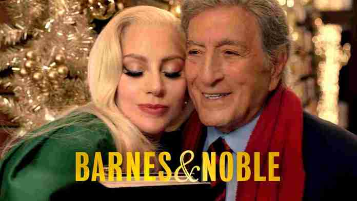 Barnes & Noble announces holiday ad campaign featuring Tony Bennett and Lady Gaga.