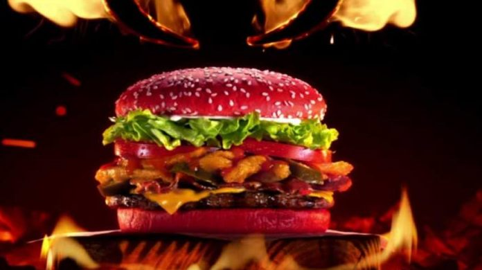 Burger King Angriest Whopper