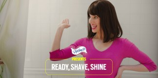 Schick adds shine to shave with #RockYourLegs