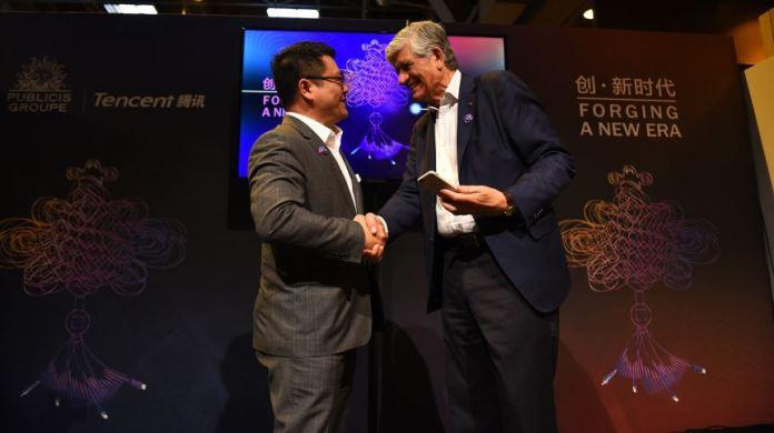 Publicis Tencent Deal
