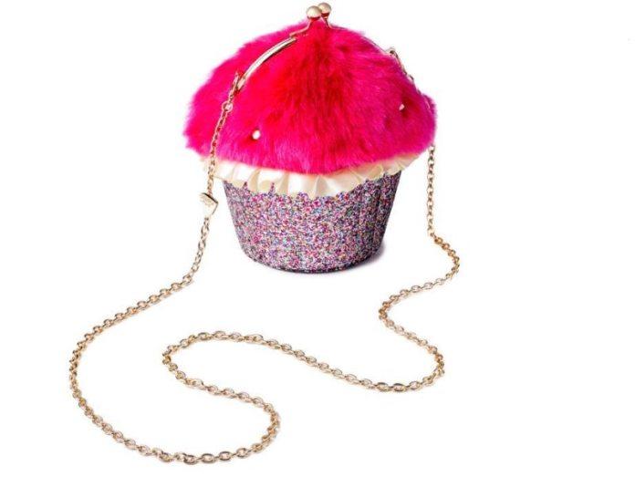 The Betsey Johnson XOX Trolls Cupcake Bag.