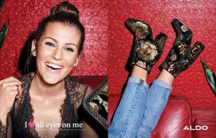 The Aldo fall campaign featuring fashion and travel blogger, Lindsay Marcella.