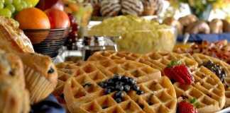 comfort breakfast waffles