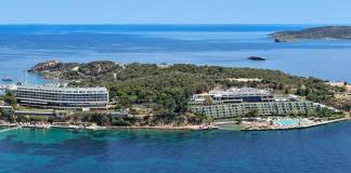 First Four Seasons Hotel in Greece