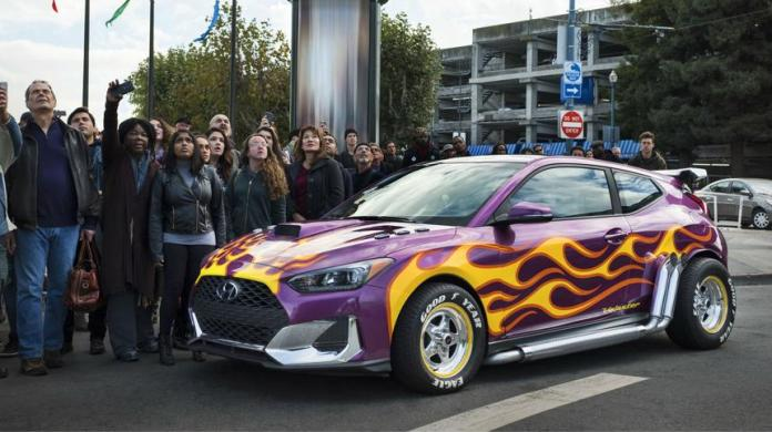 Hyundai Debuts its 2019 Veloster with Marvel Studios