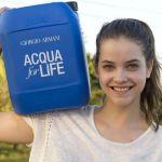 Giorgio Armani Enters the Ninth Year of its Acqua for Life Programme