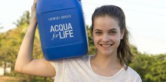 Giorgio Armani Enters the Ninth Year of its Acqua for Life Programme