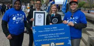Make-A-Wish Sets Guinness World Records Title