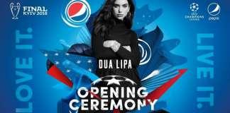 Pepsi UEFA Champions League Dua Lipa