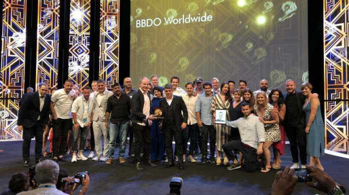 BBDO 2018 Cannes Film Festival Network of the Year Award