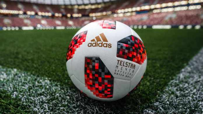 adidas 2018 FIFA World Cup Russia Official Ball Telstar Mechta