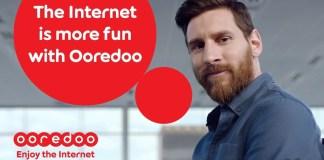 Leo Messi Ooredoo Campaign