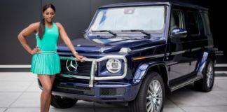 Sloane Stephens Mercedes-Benz Brand Ambassador