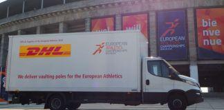DHL European Athletics Championships 2018 sponsor