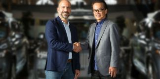 Uber CEO and Toyota CEO