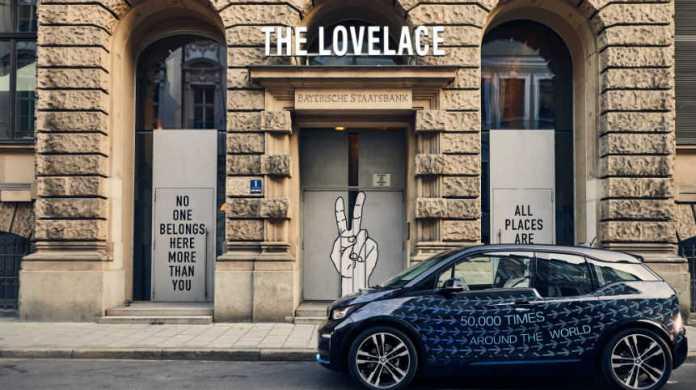 bmw i lovelace hotel collaboration